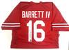JT Barrett Ohio State Buckeyes Autographed Jersey - Barrett COA