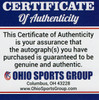 Nick Chubb Cleveland Browns Autographed White Replica Helmet - Certified Authentic