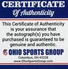 Brian Hartline 'Go Bucks' Ohio State Buckeyes Autographed Black Football - Certified Authentic