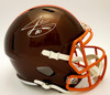 Jarvis Landry Cleveland Browns Autographed Flash Replica Helmet - Beckett Authentic