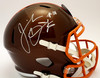 Jeremiah Owusu-Koramoah Cleveland Browns Autographed Flash Replica Helmet - Beckett Authentic