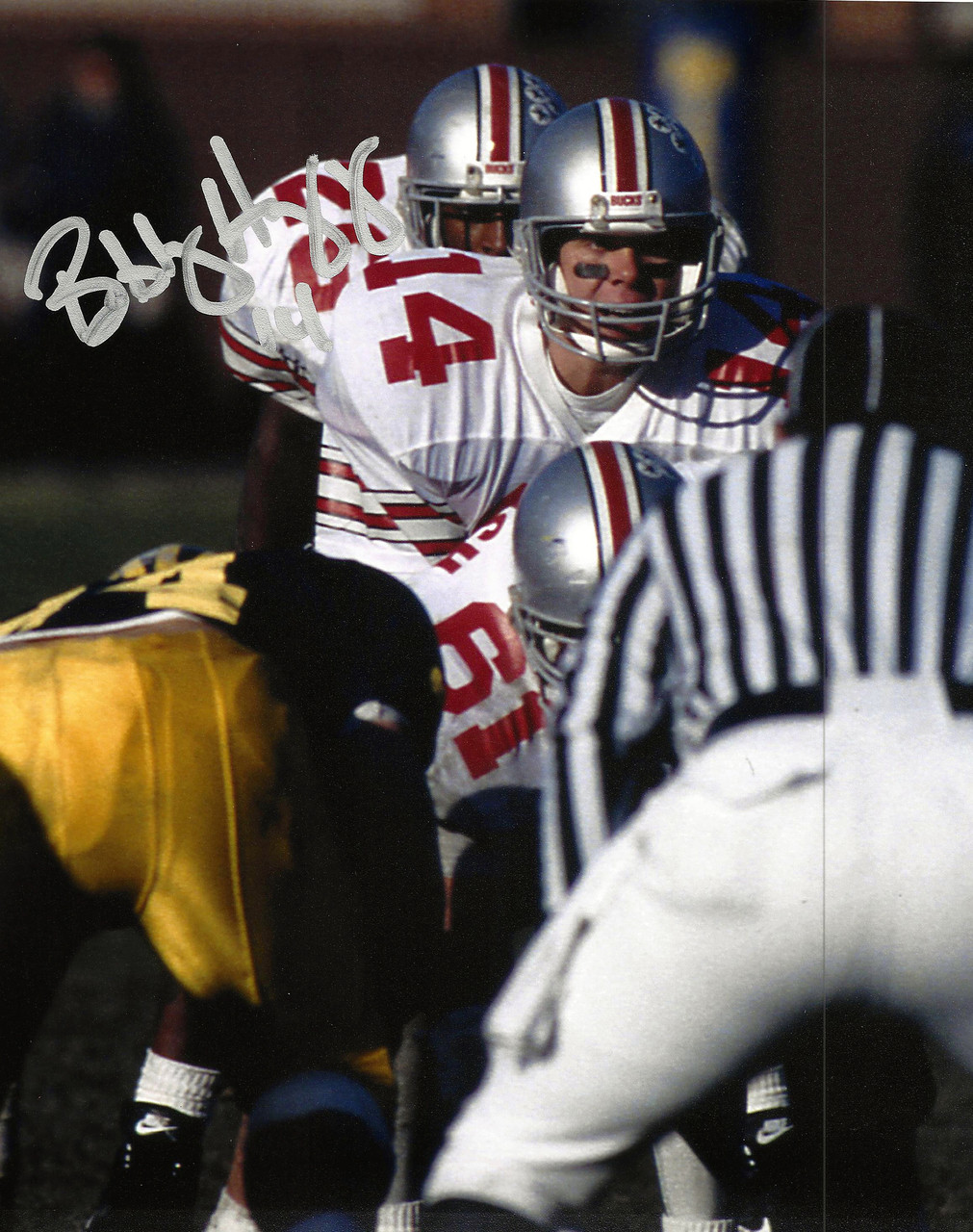 Bobby Hoying OSU 8-5 8x10 Autographed Photo - Certified Authentic