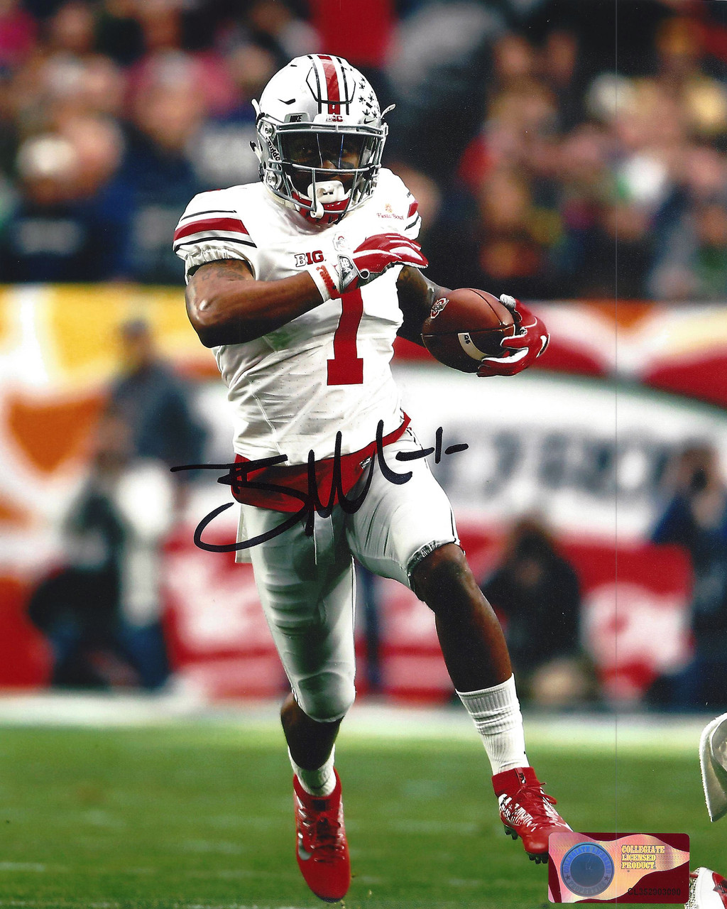 finest selection 8a84d b2163 Braxton Miller OSU 8-1 8x10 Autographed Photo - Certified Authentic