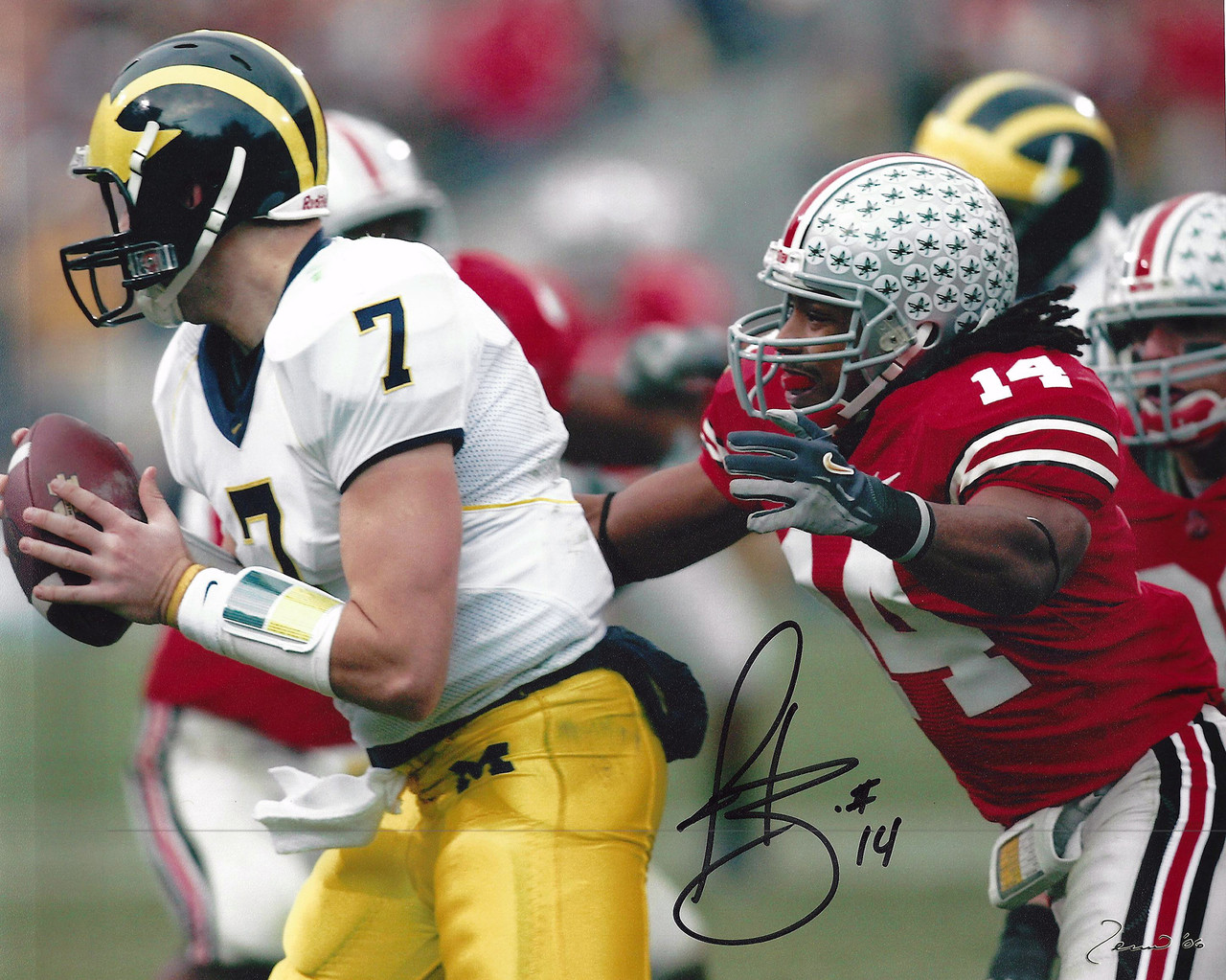 Antonio Smith OSU 8-3 8x10 Autographed Photo - Certified Authentic