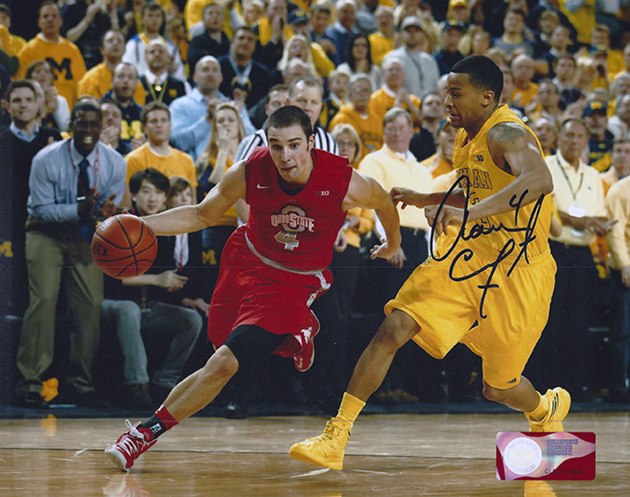 Aaron Craft OSU 8-3 8x10 Autographed Photo - Certified Authentic