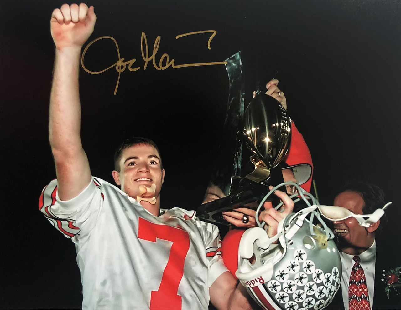 Joe Germaine OSU 11-1 11x14 Autographed Photo - Certified Authentic