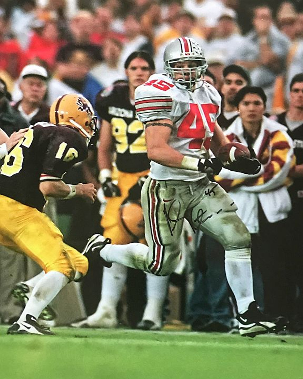 Andy Katzenmoyer OSU 16-2 16x20 Autographed Photo - Certified Authentic