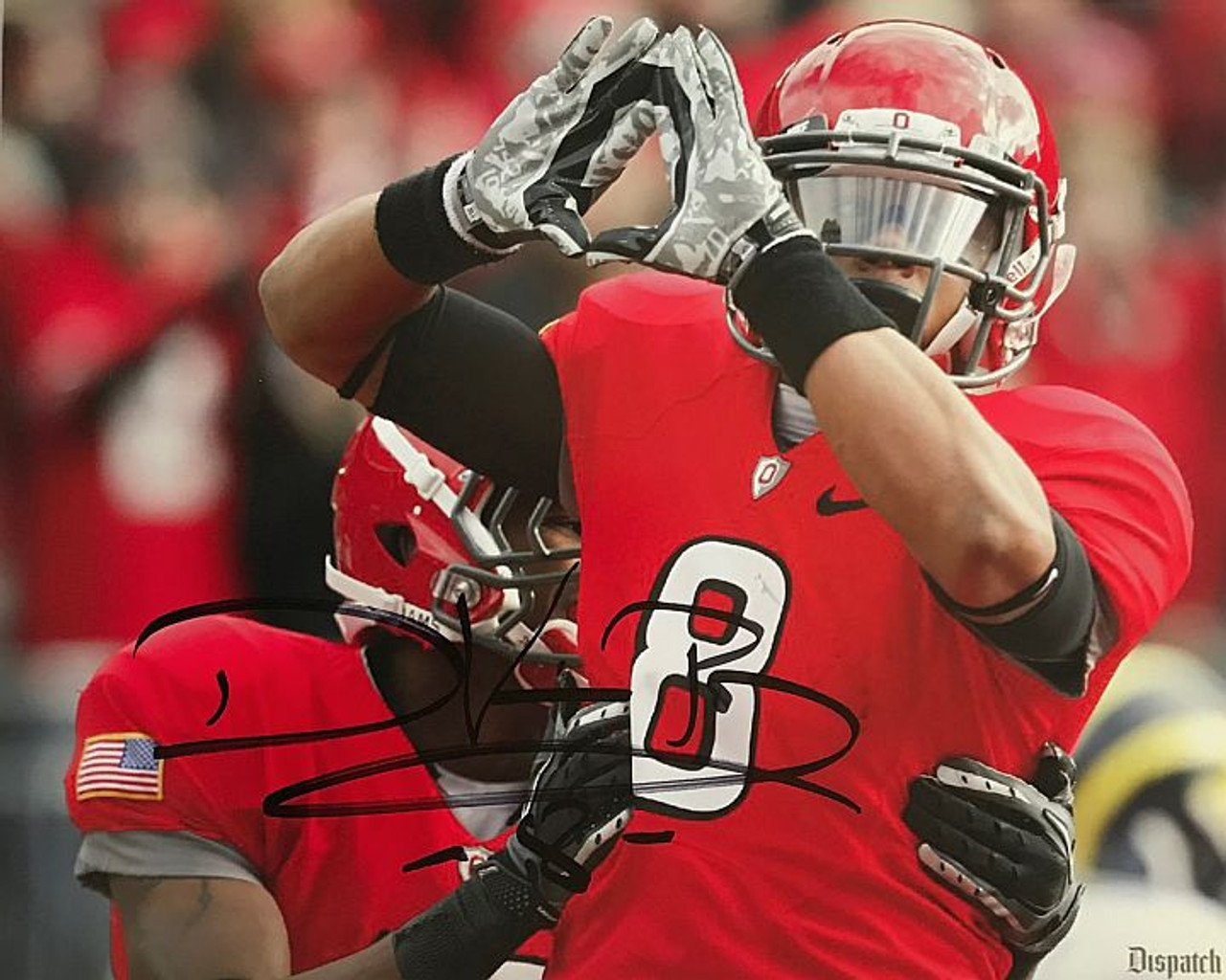DeVier Posey OSU 16-3 16x20 Autographed Photo - Certified Authentic
