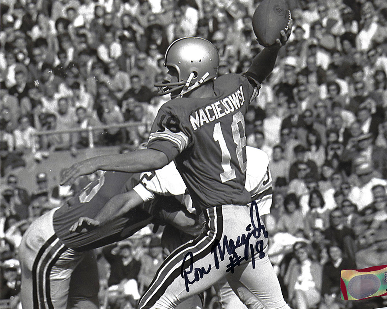 Ron Maciejowski 8-3  8x10 Autographed Photo - Certified Authentic