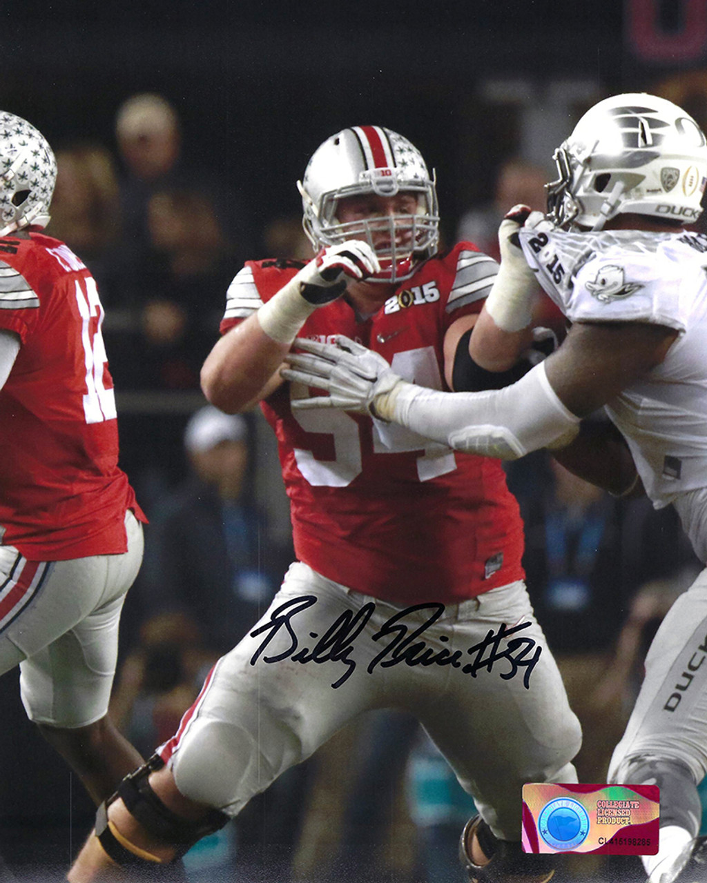 Billy Price OSU 16-4 16x20 Autographed Photo - Certified Authentic