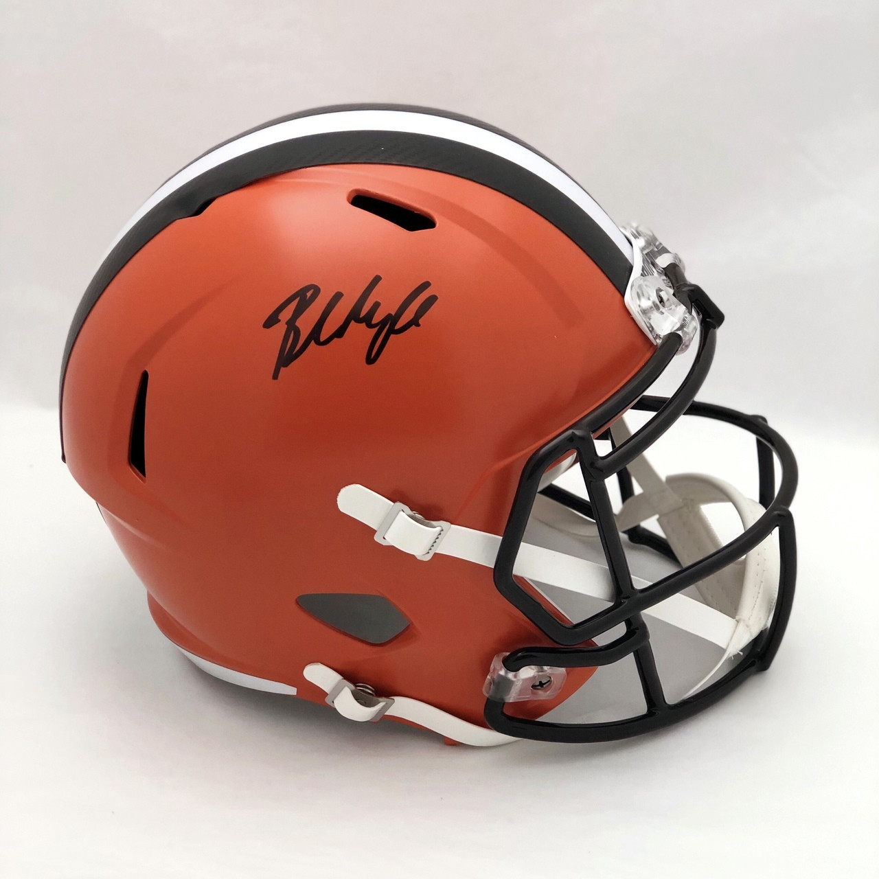 Baker Mayfield Cleveland Browns Autographed Replica Helmet - Beckett COA