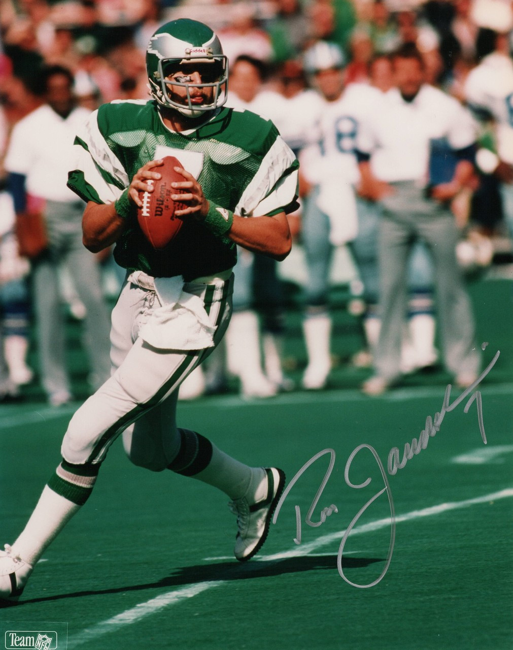 buy online 3d851 11314 Ron Jaworski Philadelphia Eagles 8-1 8x10 Autographed Photo - Certified  Authentic