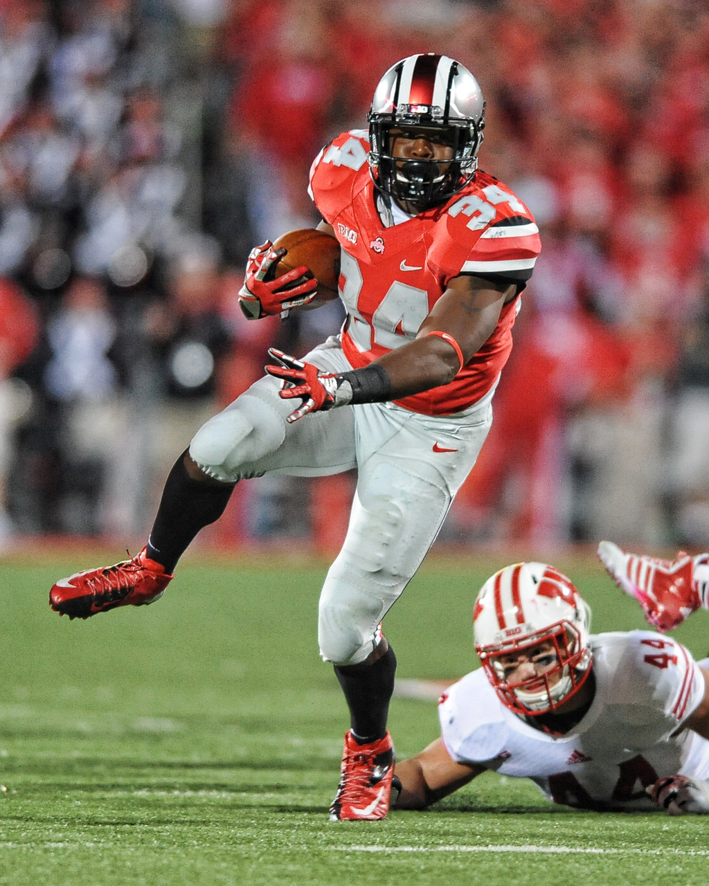 Carlos Hyde Ohio State Buckeyes Licensed Unsigned Photo
