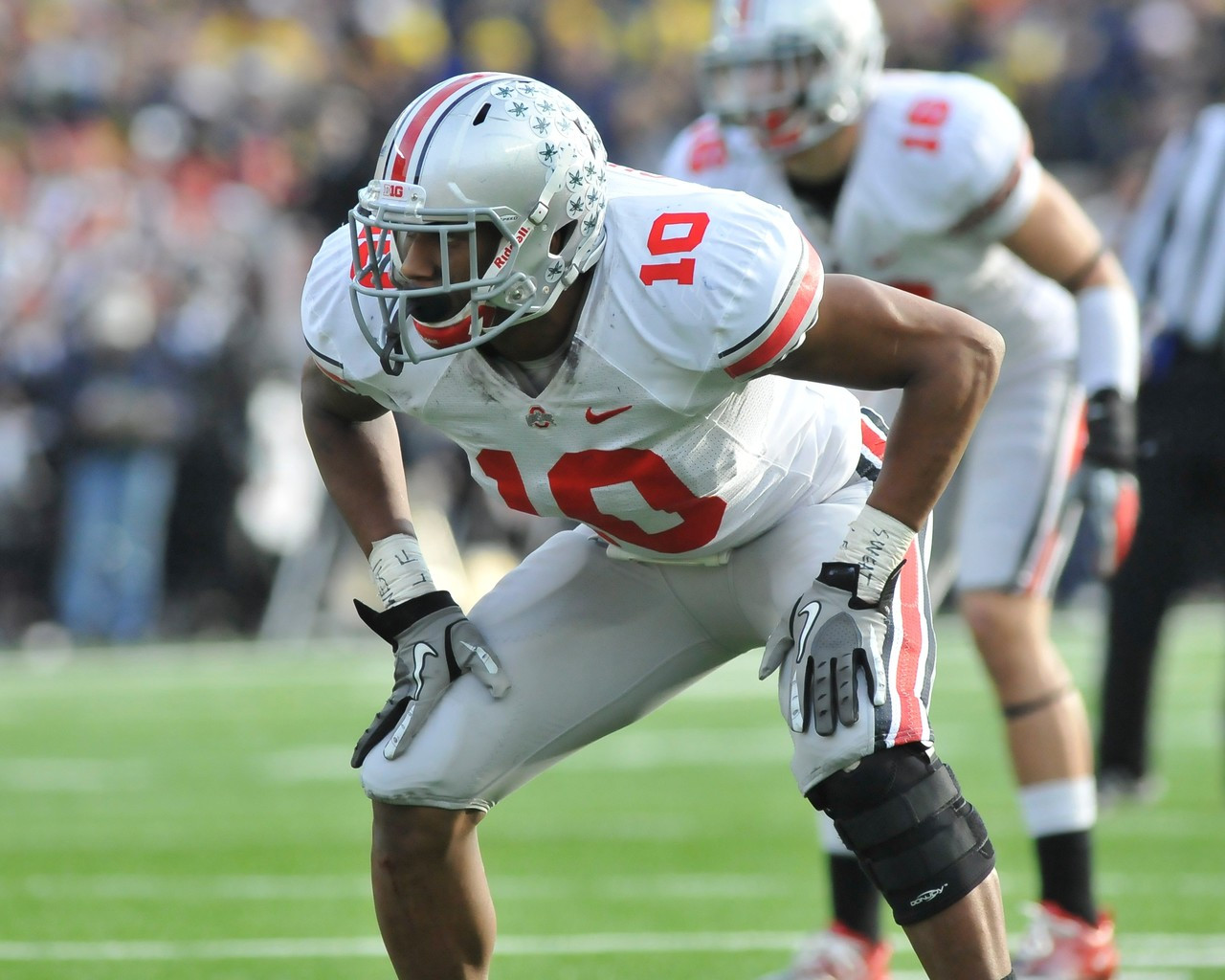 best website 61ad6 0bc81 Ryan Shazier Ohio State Buckeyes Licensed Unsigned Photo (4)