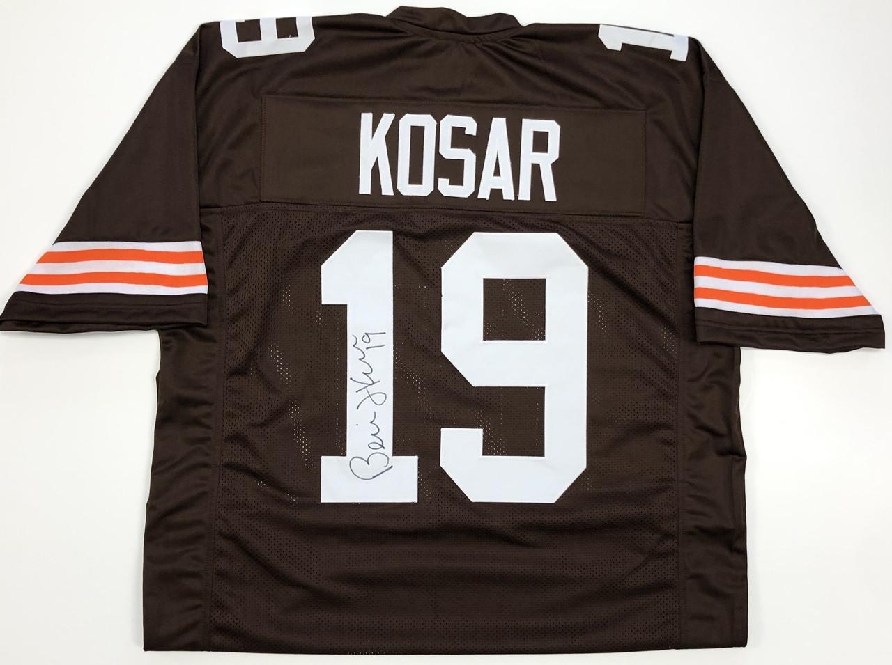 finest selection 4544c d8707 Bernie Kosar Cleveland Browns Autographed Jersey - Certified Authentic