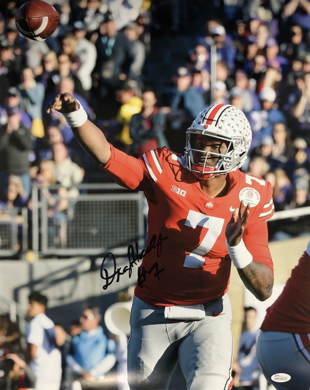 Dwayne Haskins Ohio State Buckeyes 16-2 16x20 Autographed Photo - Certified Authentic