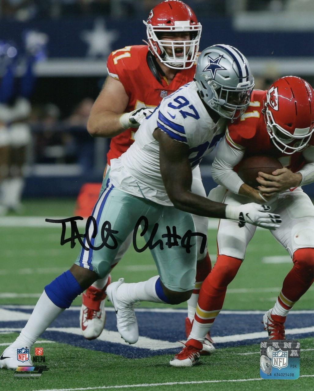 33135b55d01 Taco Charlton Dallas Cowboys 16-1 16x20 Autographed Photo - Certified  Authentic