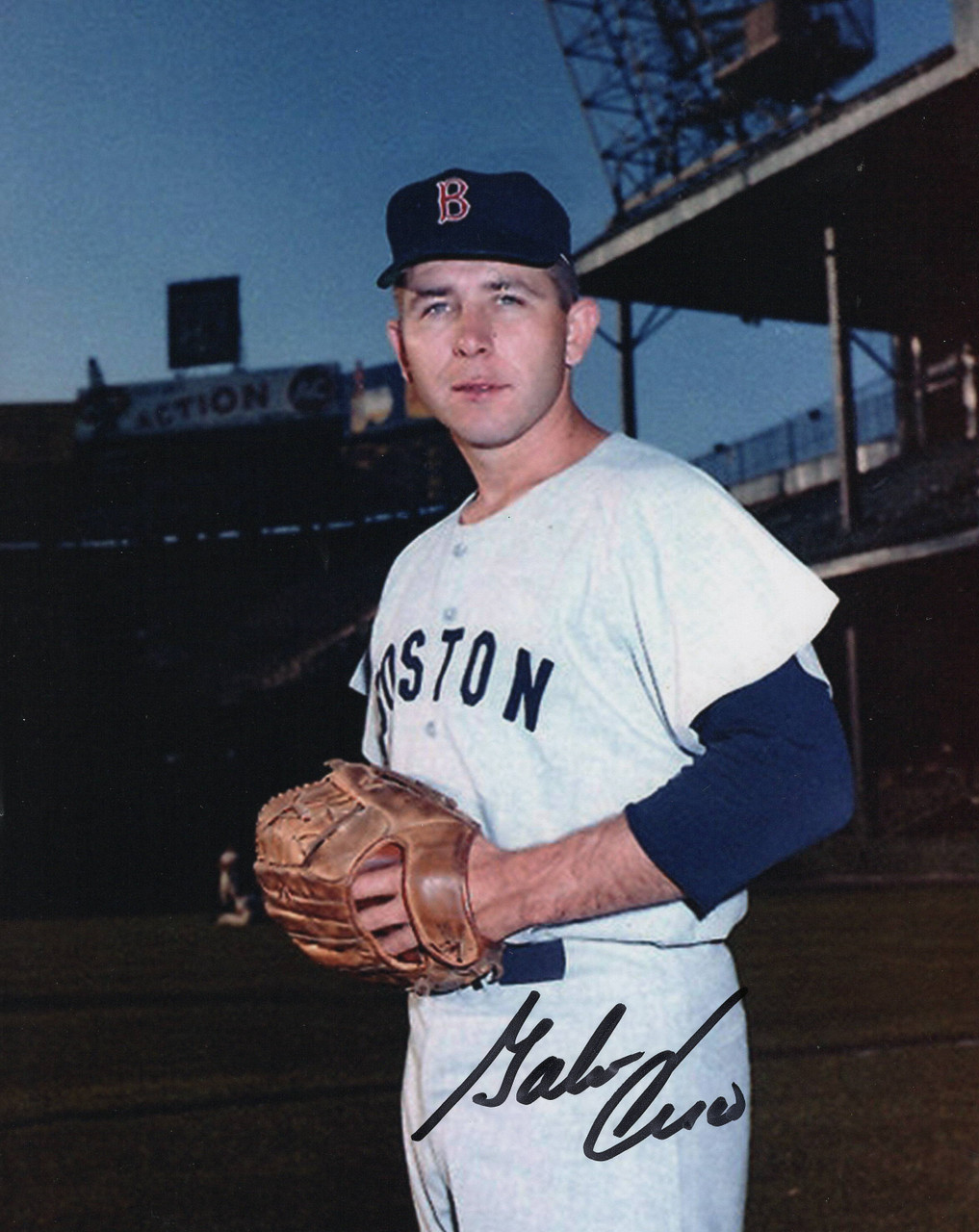 Galen Cisco Boston Red Sox 8x10 Autographed Photo - Certified Authentic