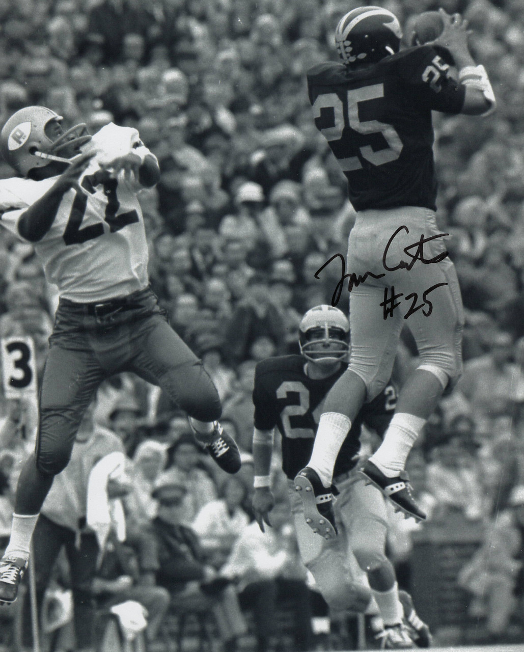 Tom Curtis Michigan Wolverines 8-1 8x10 Autographed Photo - Certified Authentic