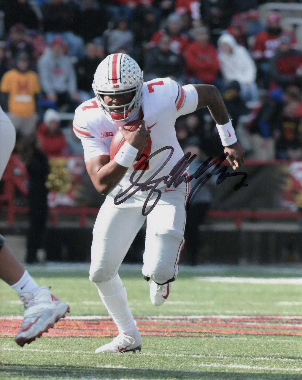 Dwayne Haskins Ohio State Buckeyes 8-8 8x10 Autographed Photo - Certified Authentic