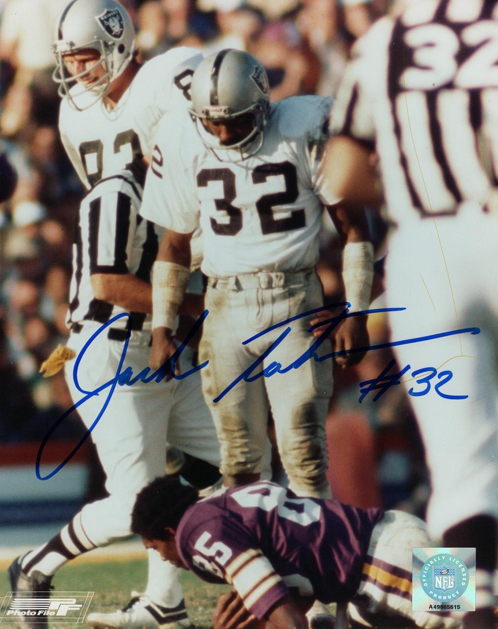 premium selection b497d 3bfef Jack Tatum Oakland Raiders 8-1 8x10 Autographed Photo - Certified Authentic