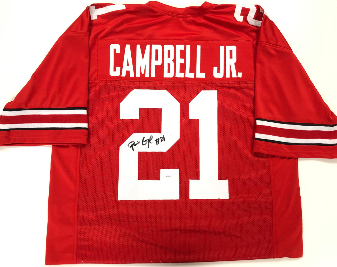 Parris Campbell Ohio State Buckeyes Autographed Jersey - JSA Authentic