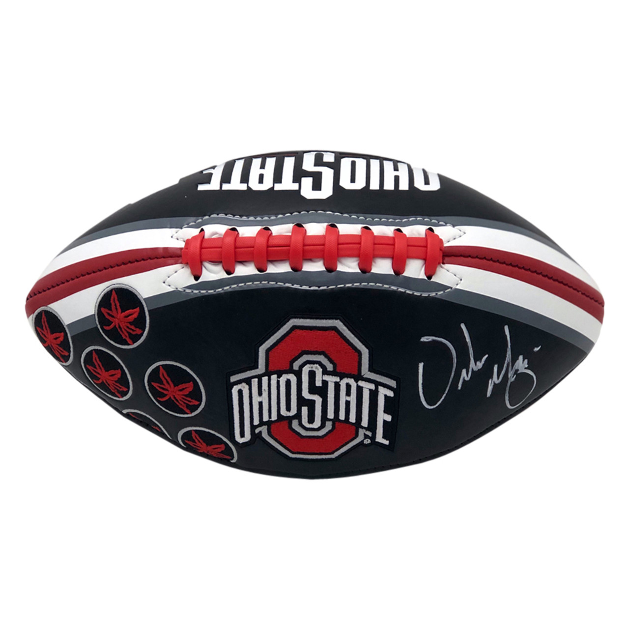 Urban Meyer Ohio State Buckeyes Autographed Black Football - PSA Authentic