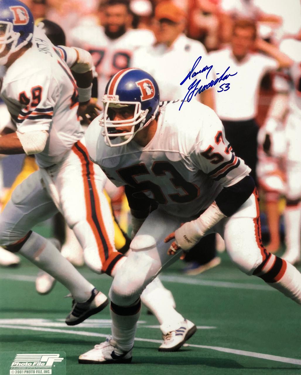 Randy Gradishar Denver Broncos 16-1 16x20 Autographed Photo - Certified Authentic