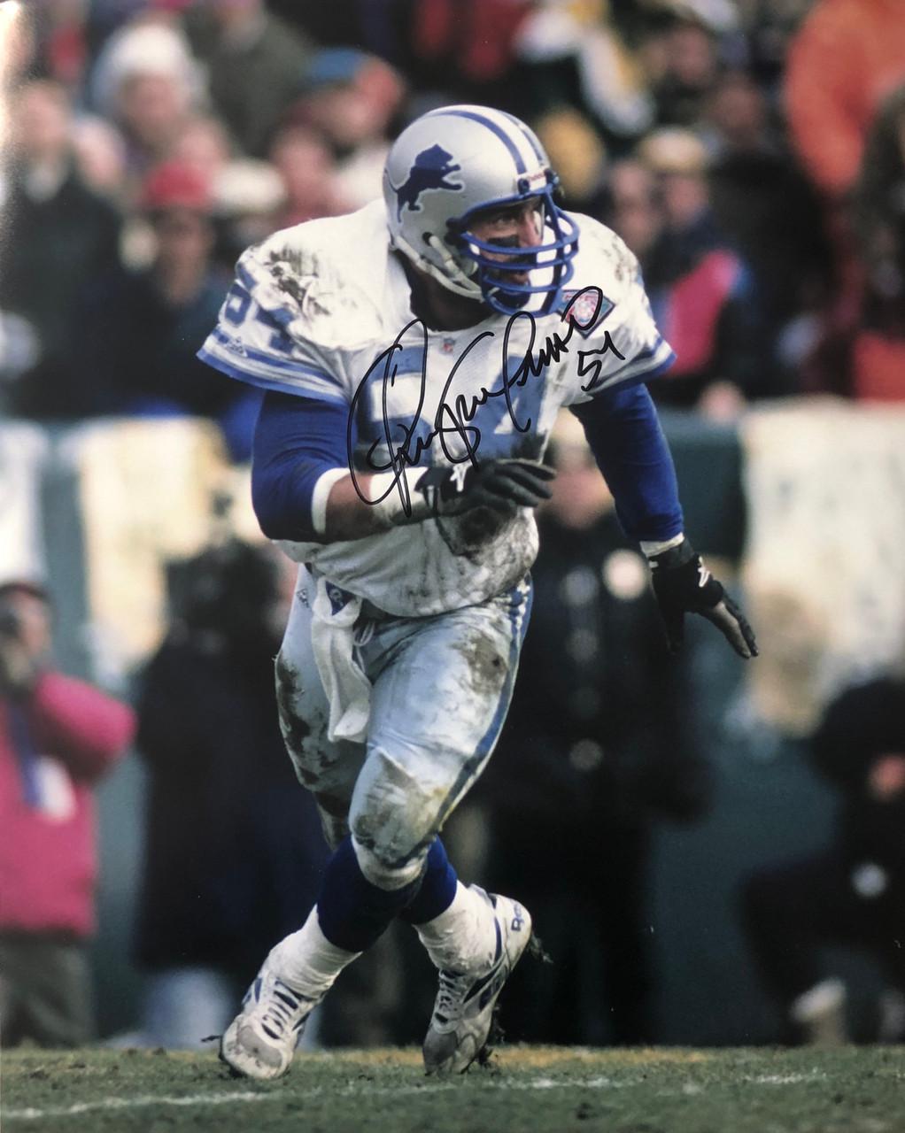 check out 75460 b5b13 Chris Spielman Detroit Lions 16-1 16x20 Autographed Photo - Certified  Authentic