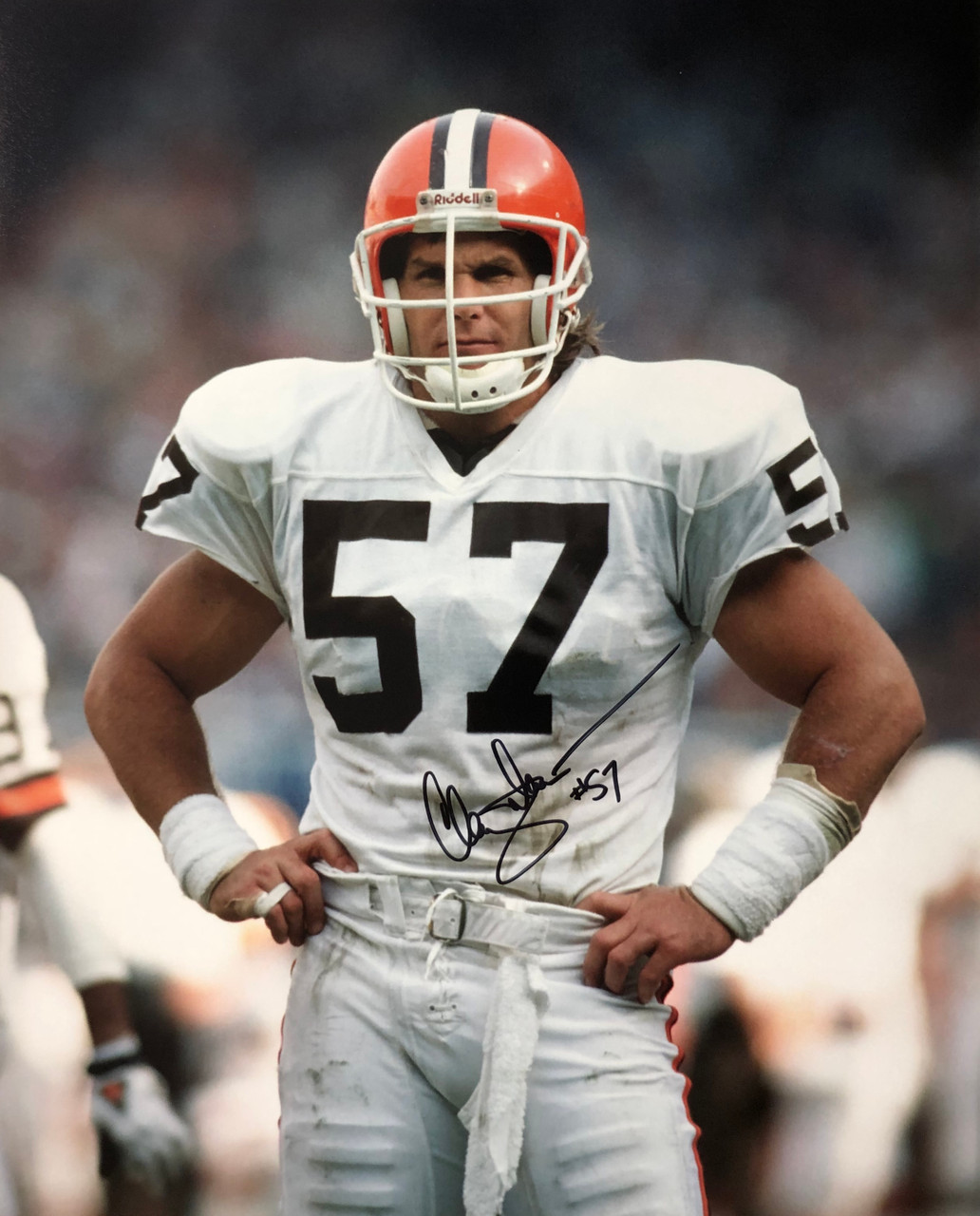 cheaper 5e078 00d0e Clay Matthews Cleveland Browns 16-8 16x20 Autographed Photo - Certified  Authentic