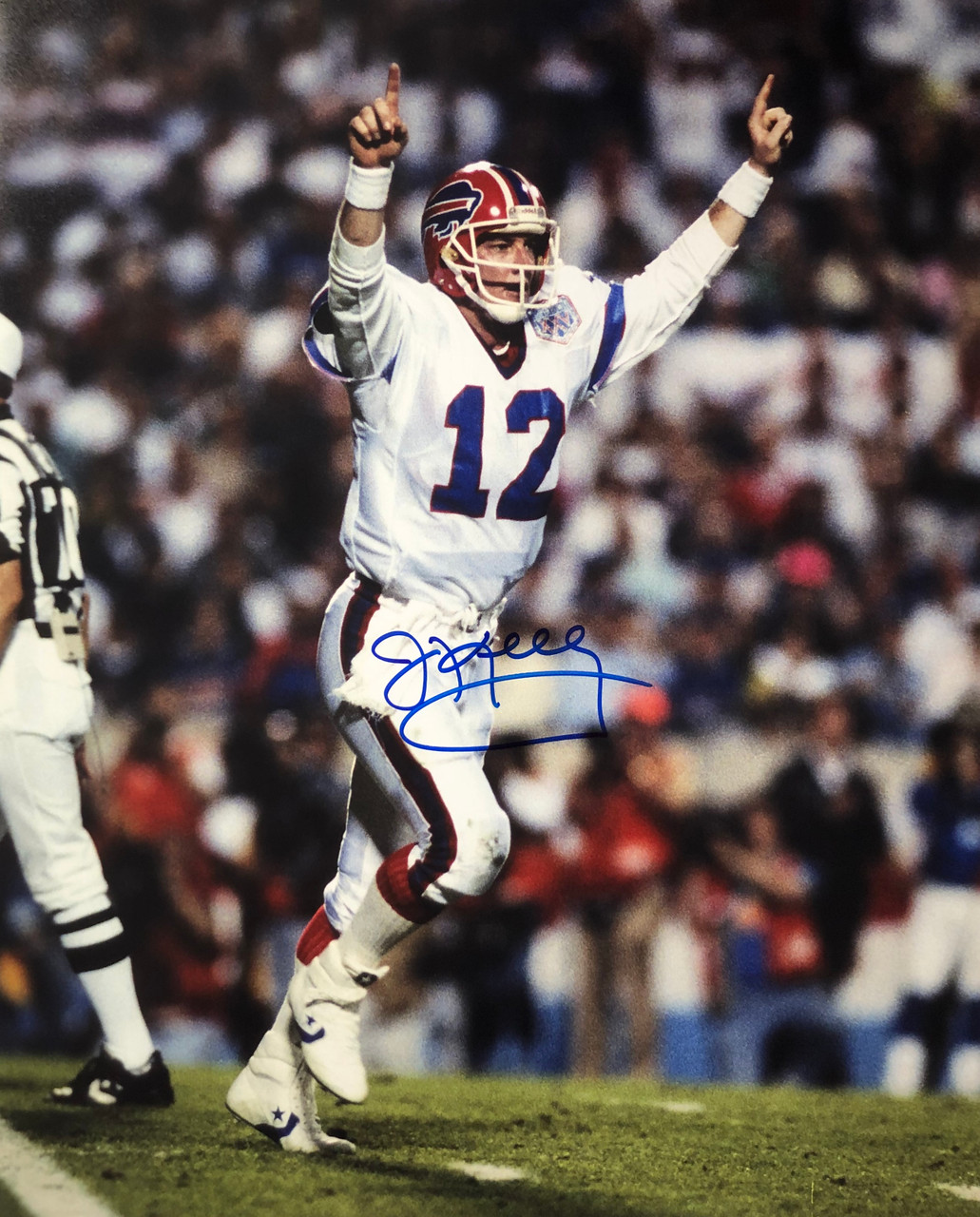 the latest c19b0 c8be9 Jim Kelly Buffalo Bills 16-2 16x20 Autographed Photo - Certified Authentic