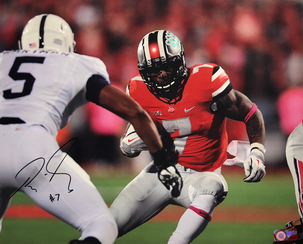 Rod Smith Ohio State Buckeyes 16-3 16x20 Autographed Photo - Certified Authentic