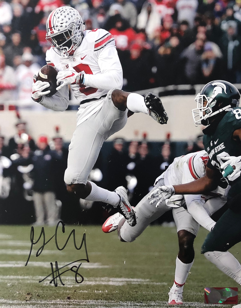Gareon Conley Ohio State Buckeyes 11-2 11x14 Autographed Photo - Certified Authentic