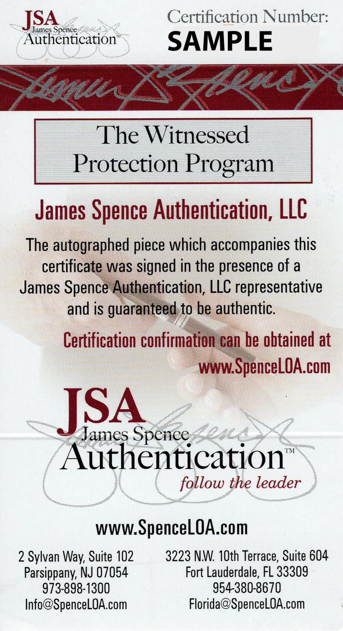 separation shoes 04251 7c2dd Joe Thomas Cleveland Browns Autographed Jersey w/ 2 Inscriptions - JSA  Authentic