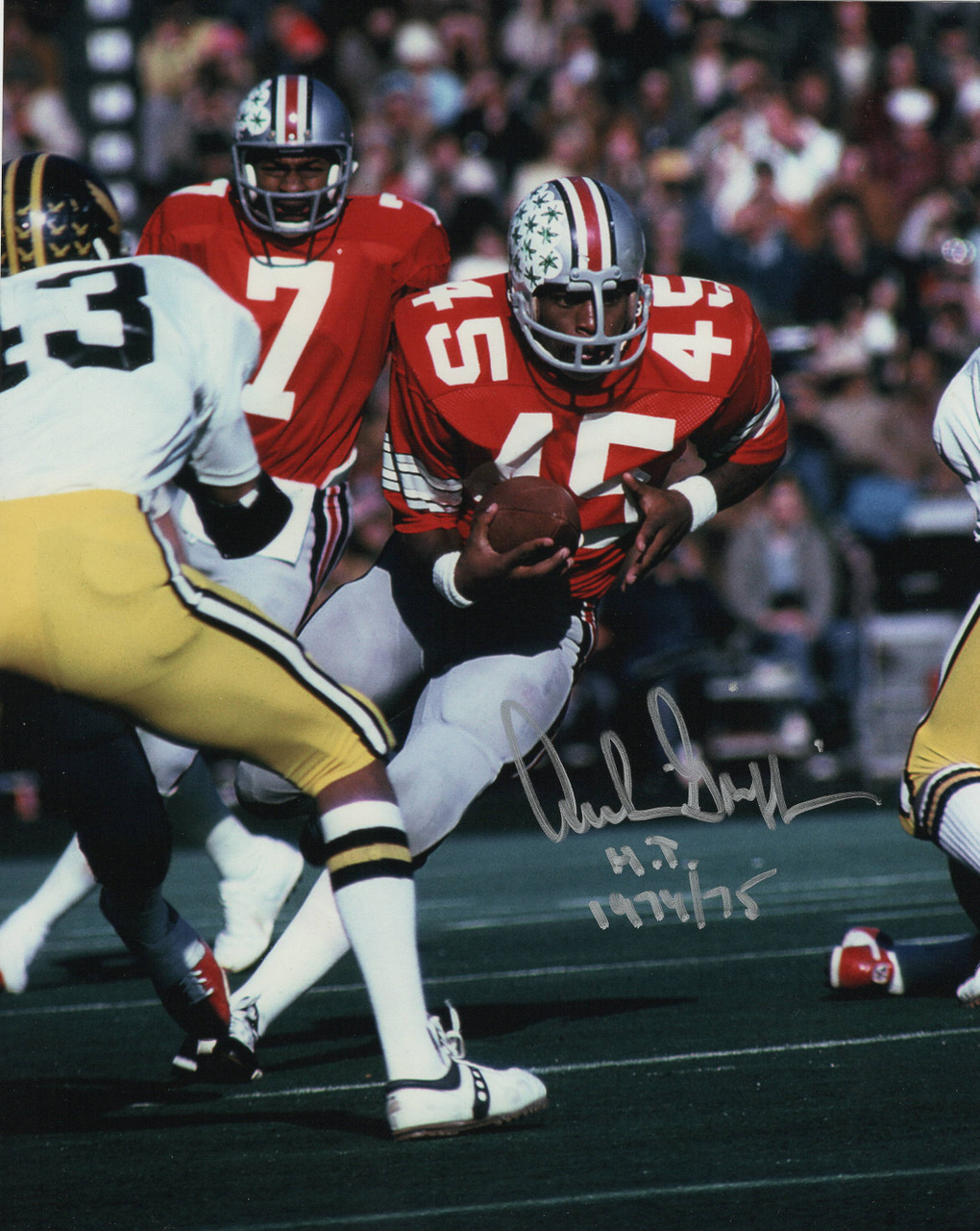 Archie Griffin OSU 16-15 16x20 Autographed Photo Certified Authentic