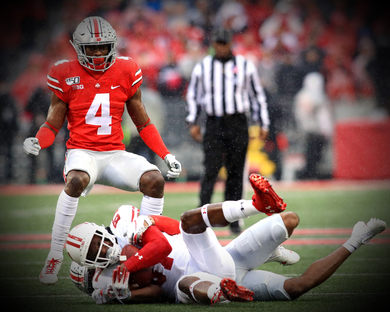 Jordan Fuller Ohio State Buckeyes Licensed Unsigned Photo 5