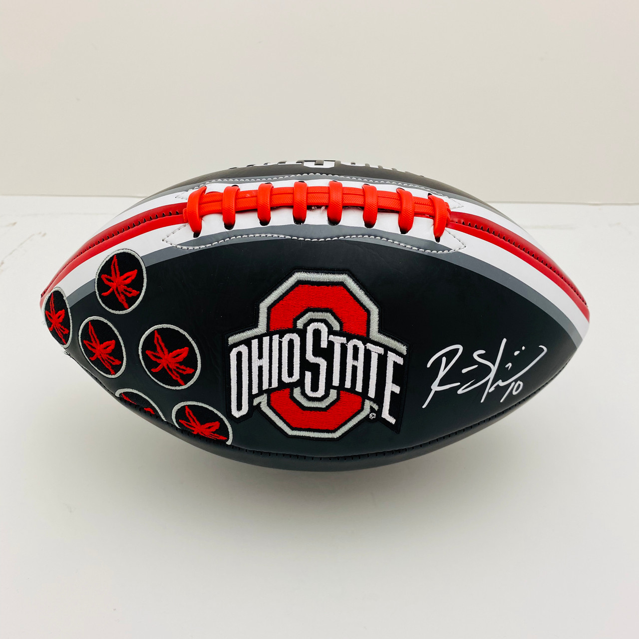 Ryan Shazier Ohio State Buckeyes Autographed Black Football - PSA Authentic