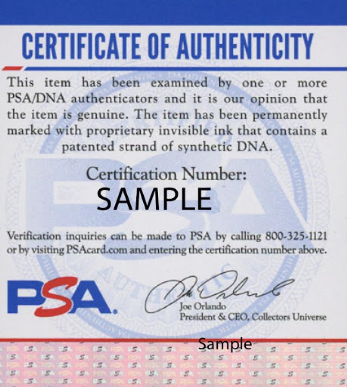 KJ Hill Ohio State Buckeyes Autographed Replica Helmet - PSA Authentic