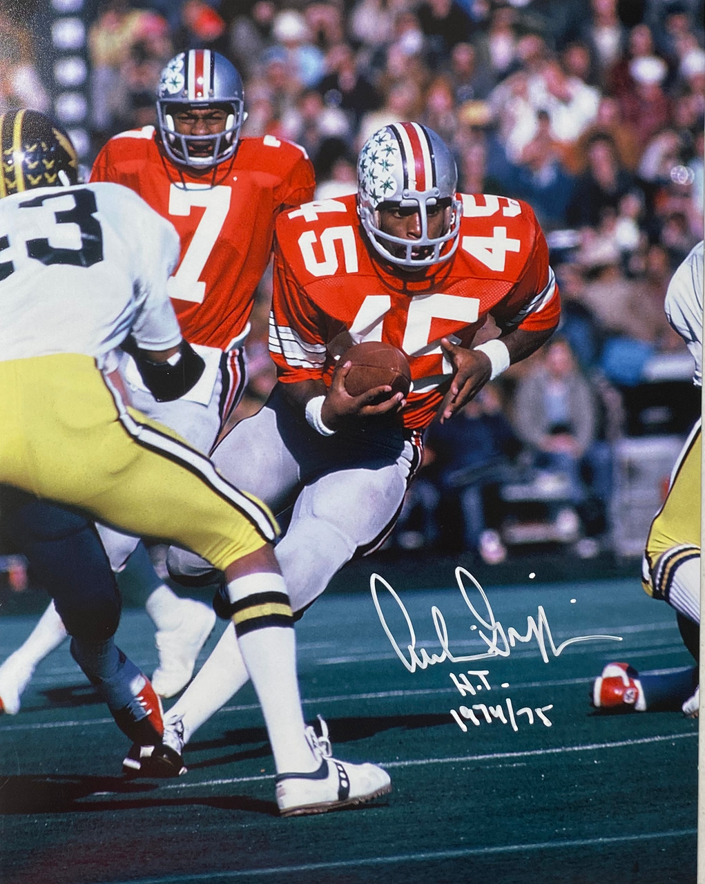 Archie Griffin Ohio State Buckeyes 11-3 11x14 Autographed Photo - Certified Authentic