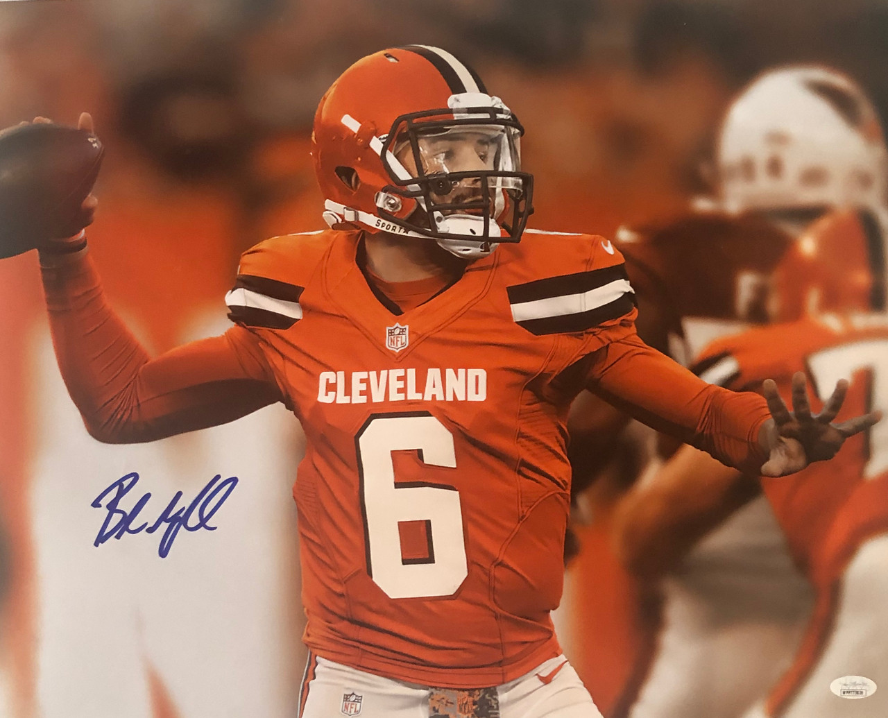 Baker Mayfield Cleveland Browns 16-3 16x20 Autographed Photo - JSA Authentic