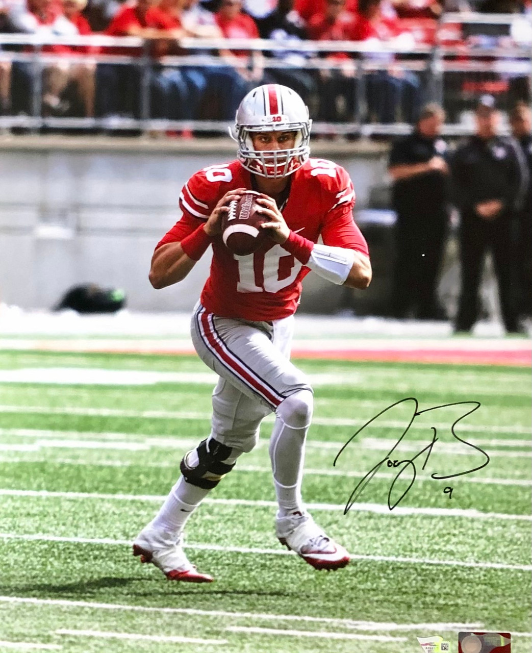 Joe Burrow Ohio State Buckeyes 16-1 16x20 Autographed Photo - Certified Authentic