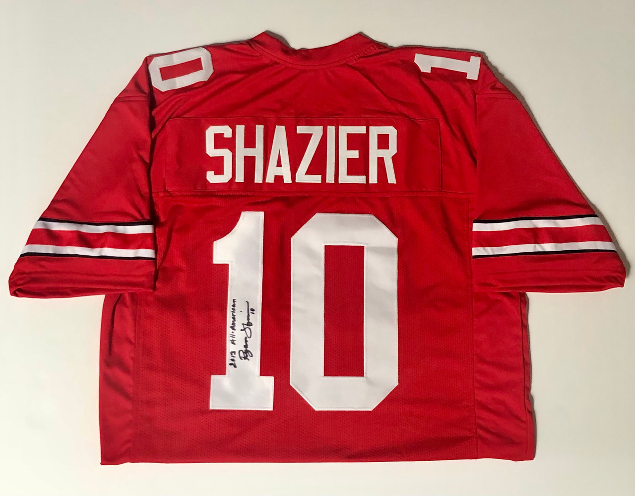 Ryan Shazier Ohio State Buckeyes Autographed Jersey - Certified Authentic