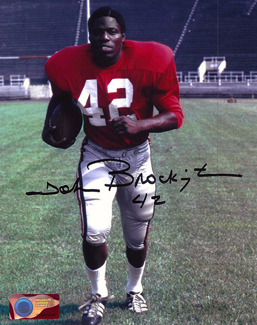 John Brockington OSU 8-2 8x10 Autographed Photo - Certified Authentic
