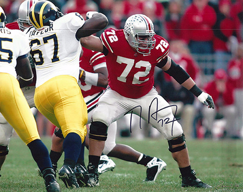TJ Downing OSU 8-2 8x10 Autographed Photo - Certified Authentic