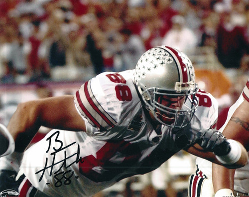 Ben Hartsock OSU 8-5 8x10 Autographed Photo - Certified Authentic