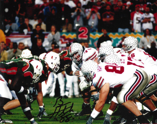 Ben Hartsock OSU 8-7 8x10 Autographed Photo - Certified Authentic