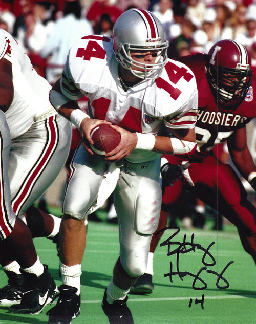 Bobby Hoying OSU 8-1 8x10 Autographed Photo - Certified Authentic