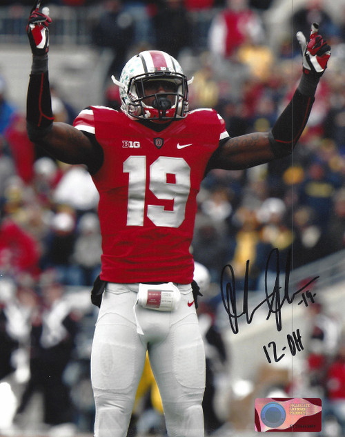 Orion Johnson OSU 8-1 8x10 Autographed Photo - Certified Authentic