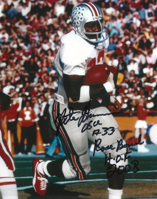 Pete Johnson OSU 8-1 8x10 Autographed Photo - Certified Authentic