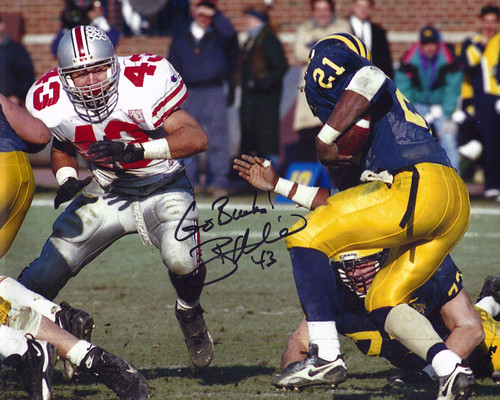Ryan Miller OSU 8-3 8x10 Autographed Photo - Certified Authentic